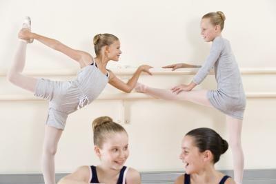 Ballet Bar Exercises at Home