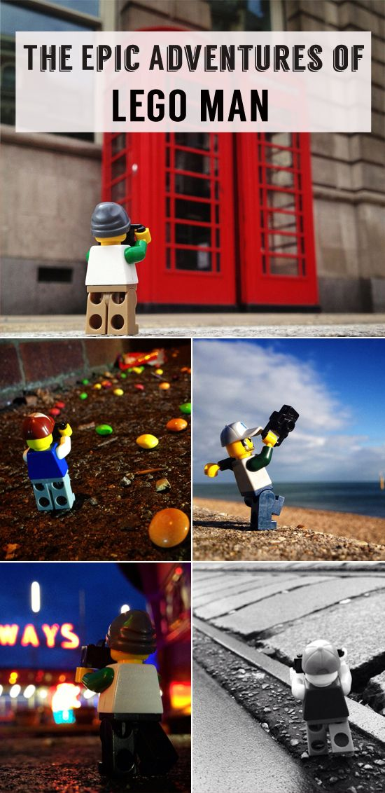 The big adventures of one little Lego man
