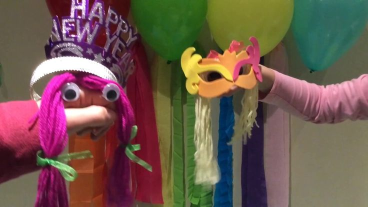 HAND PUPPET SHOW FOR CHILDREN - Happy New Year 2017