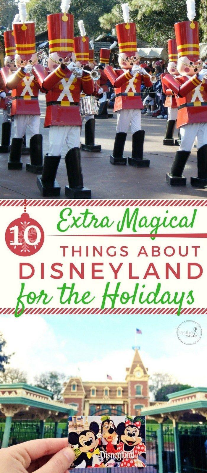 Disneyland zu Weihnachten! 10 magische Dinge über die Feiertage bei Disney!
