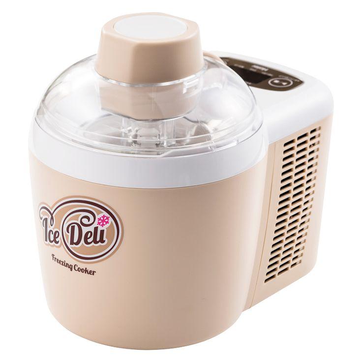 【あす楽対応】自分好みのアイスクリームが楽しめます。。ハイアール Haier アイスデリ フリージング・クッカー JL-ICM720A (C) JAN: 4562117086330 【送料無料】