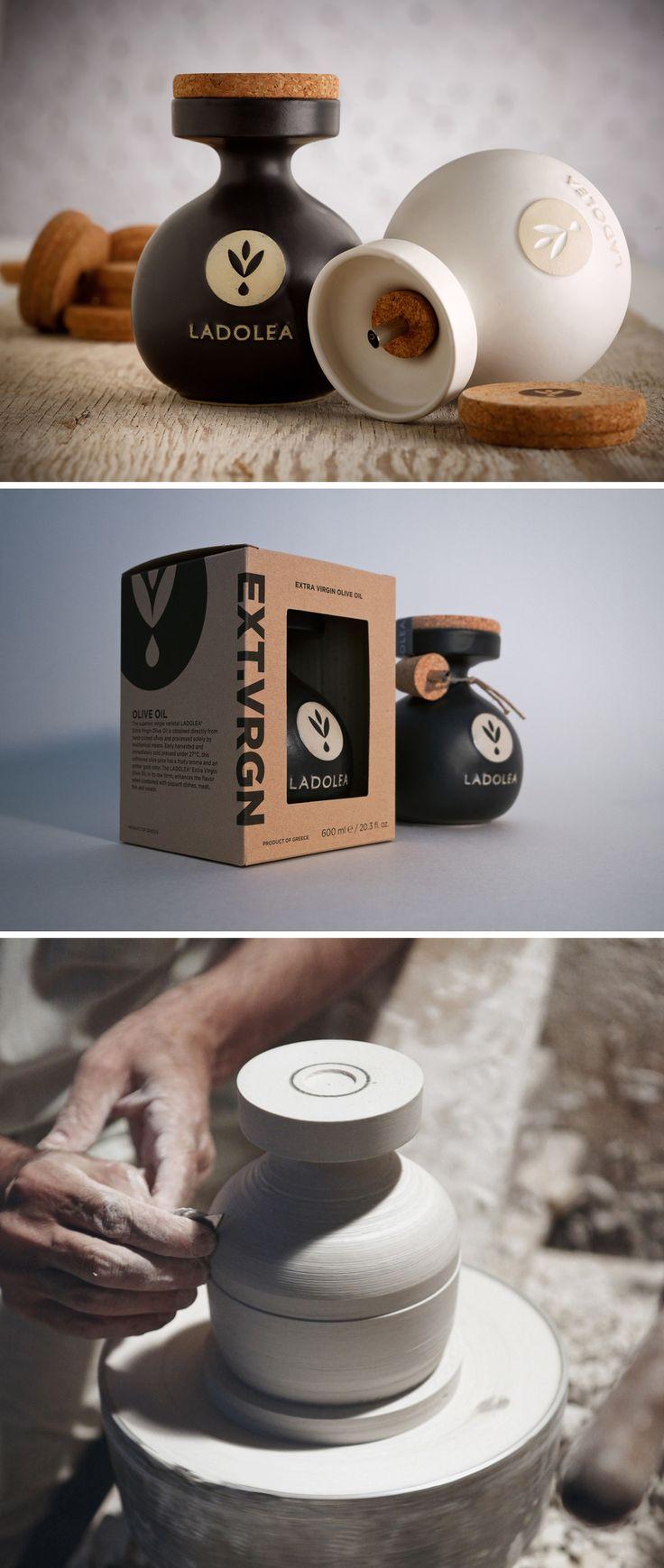 Porcelain Olive Oil Förpackad -Blogg om Förpackningsdesign, Förpackningar, Grafisk Design - CAPDesign