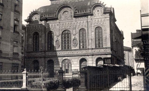 Przemysl, Poland, A synagogue. - Yad Vashem Photo Archive