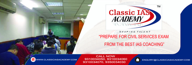 Classic IAS Academy one of the best IAS coaching in Delhi. Faculties with expertise in particular subjects offer training according to the Civil Services Exam pattern and cover selected topics .We provide online test series and monthly seminars and offer study material, books notes, magazines, newspapers. With smart work and guidance,cracking Civil Services Exam becomes easy. Contact us on +91-9310034050 to enroll for the latest batch. #UPSCStopInjustice #SaturdayMotivation #Naachiyaar…