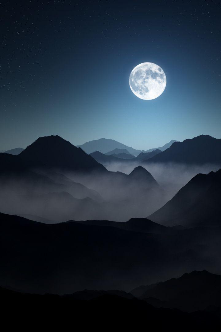 Ars_amandi_x : Foto Der Mond ist ein wunderbares Geschenk des Himmels. Denn oft schenkt er mehr Hoffnung als die Sonne.