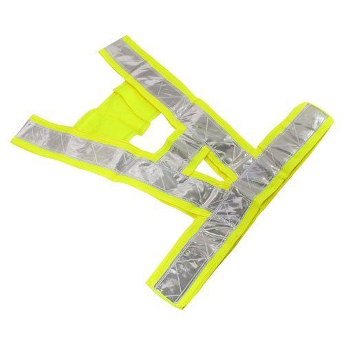 High Safety Security Visibility Reflective Reflector Vest Gear Biking Running Jogging