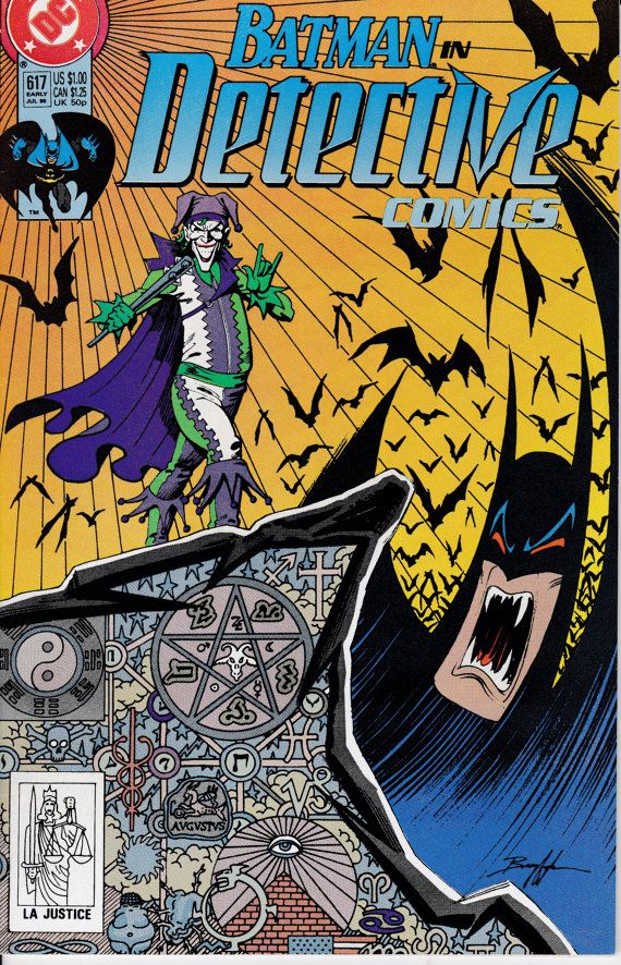 Detective Comics 617   July 1990 Issue  DC Comics  by ViewObscura