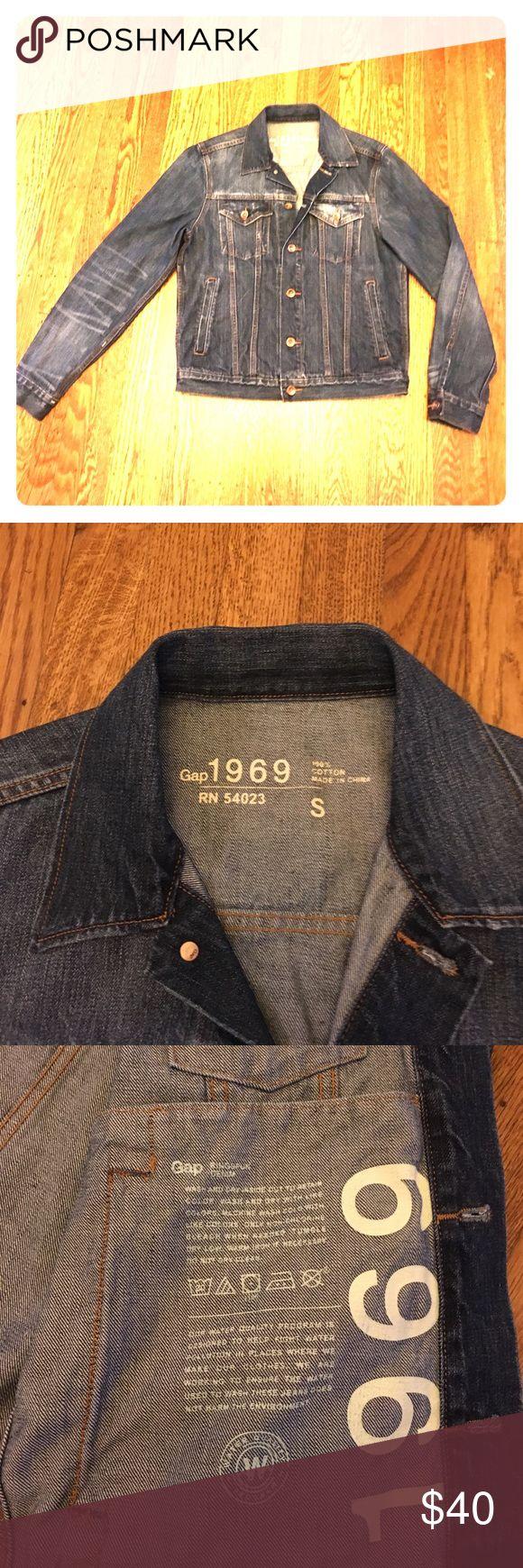 Gap 1969 men's jean jacket size small Gap 1969 men's jean jacket size small. In brand new condition. GAP Jackets & Coats Performance Jackets