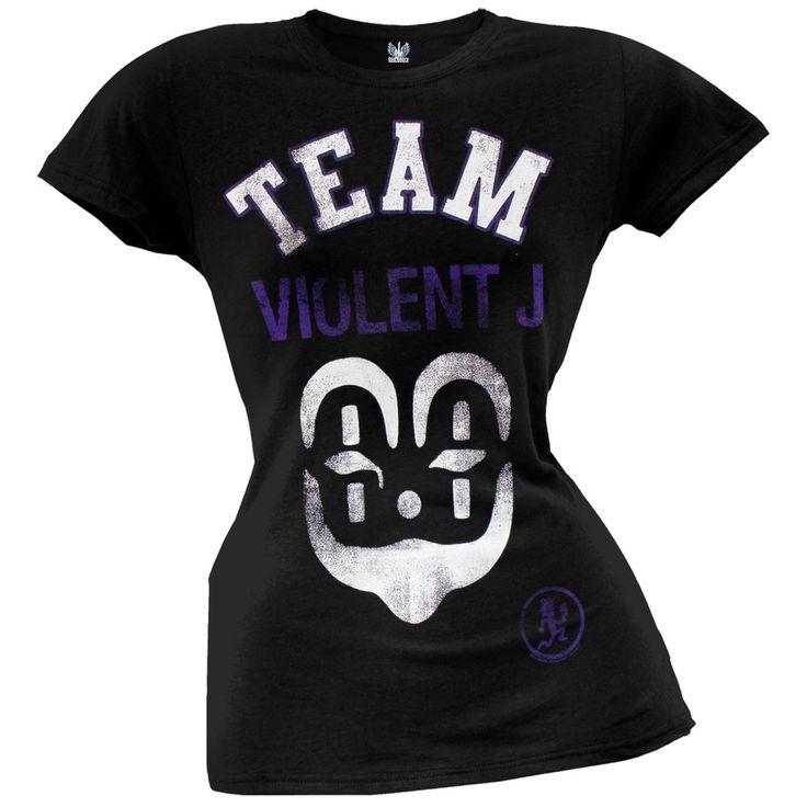 Insane Clown Posse - Team Violent J Juniors T-Shirt