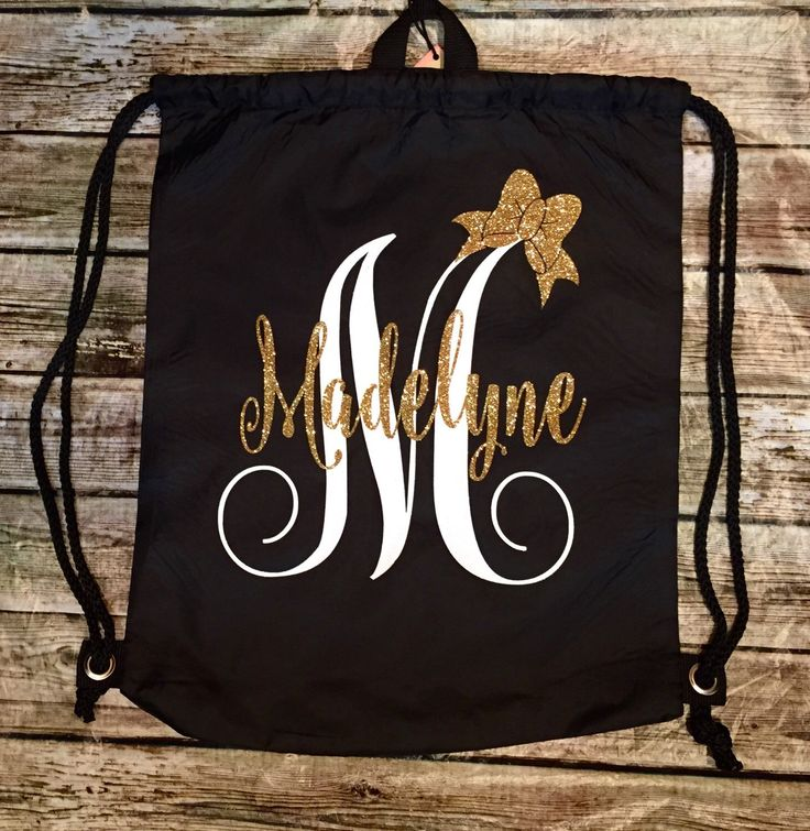 A personal favorite from my Etsy shop https://www.etsy.com/listing/264763987/monogram-backpack-personalized-backpack
