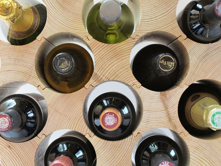 Wooden Wine Rack - Bottle Blocks (1 pack) by BottleBlock on Etsy