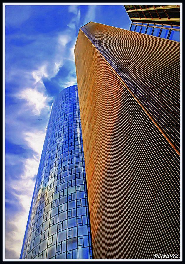Skylines of Frankfurt by Chris Vekris on 500px