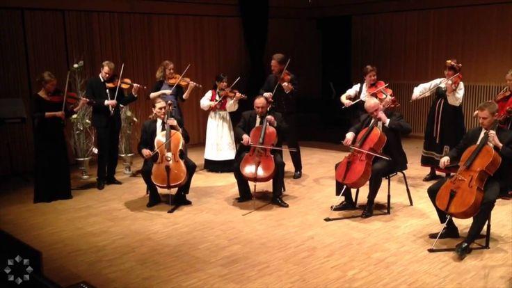 Edvard Grieg - Holberg Suite (1mvt)  The Arctic Philharmonic Chamber Orchestra with Leader Øyvind Bjorå
