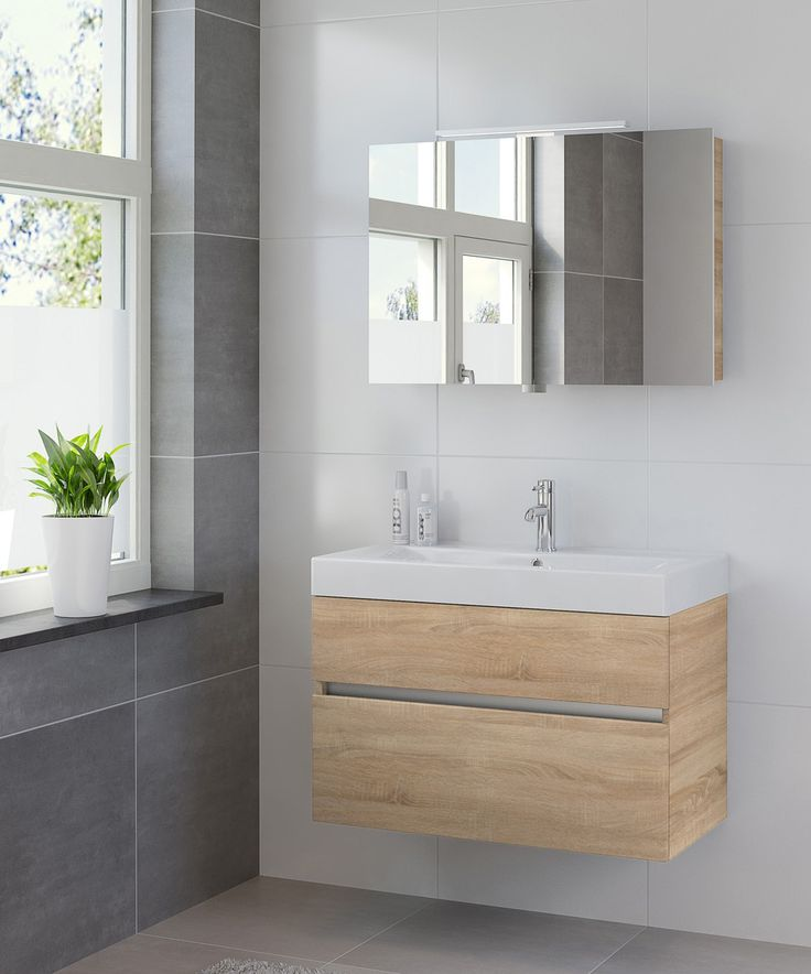 Bruynzeel Nano 900cm // badmeubel badkamer sanitair / bathroom furniture cabinet / meuble salle de bain