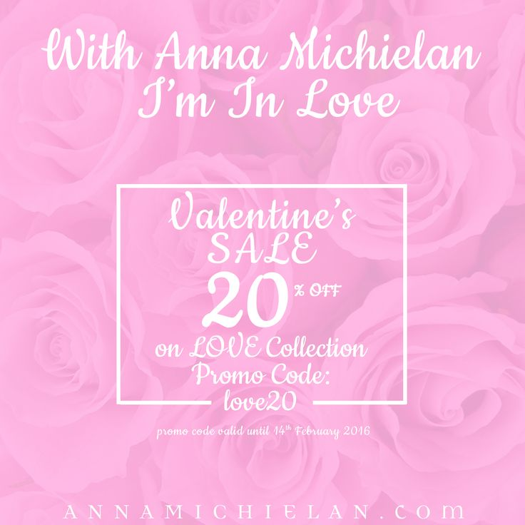 ♥ GET THE PERFECT GIFT ♥ ✯  SPECIAL TREAT FOR SAINT VALENTINE'S DAY ✯ 20% OFF all items of LOVE Collection ►  http://www.annamichielan.com/collections/love  ◄ Promo Code: love20  ✉  Worldwide shipping ✉  ❥ with Anna Michielan I am in Love ❥  #stvalentine #valentinesday #love #shoponline #perfectgift #annamichielan #oishii #crystal #healing #jewelry #forthesoul #boho #sale #gem #stone #crystal #accessories #rosequartz #heart #chakra #pearls #amethyst