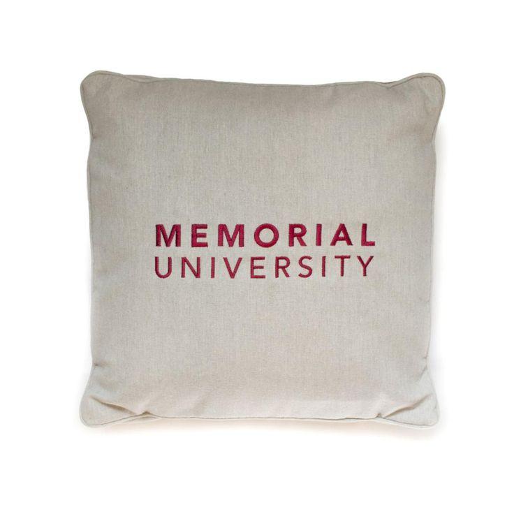 Memorial University pillow (Grey)