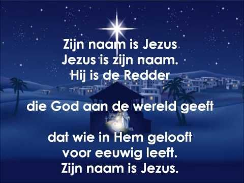 5 Zijn naam is Jezus - YouTube