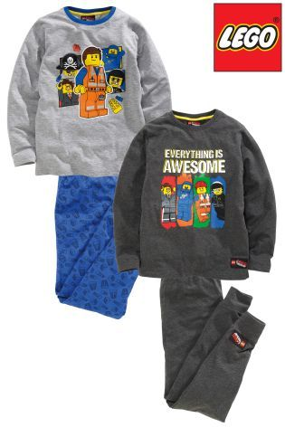 Buy Two Pack Lego™ Movie Pyjamas (4-10yrs) from the Next UK online shop