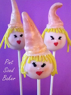 The Good Witch Glinda Cake Pop