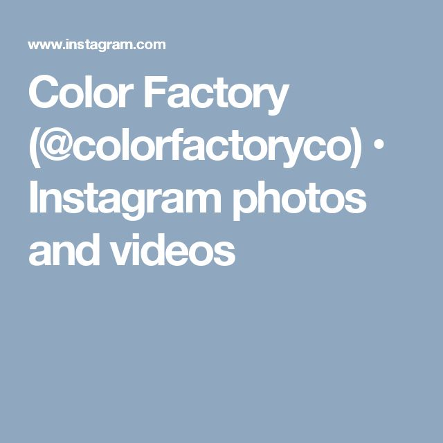 Color Factory (@colorfactoryco) • Instagram photos and videos