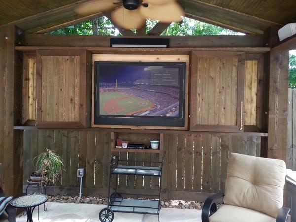 Rain Case, LLC - Rain Case Amuminum Outdoor TV Enclosures: Gallery