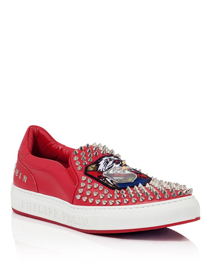 "PHILIPP PLEIN SLIP ON ""TIGER FORCE"". #philippplein #shoes #"