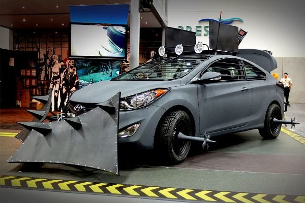 Hyundai zombie survival machine. I bet you want one ...