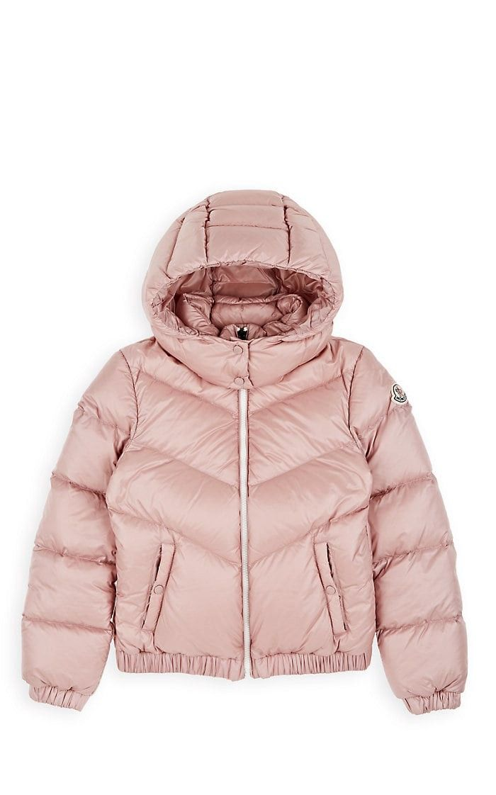 1461d19cc Moncler Kids' Adelie Down-Quilted Coat - 8 Yrs Pink   Products ...