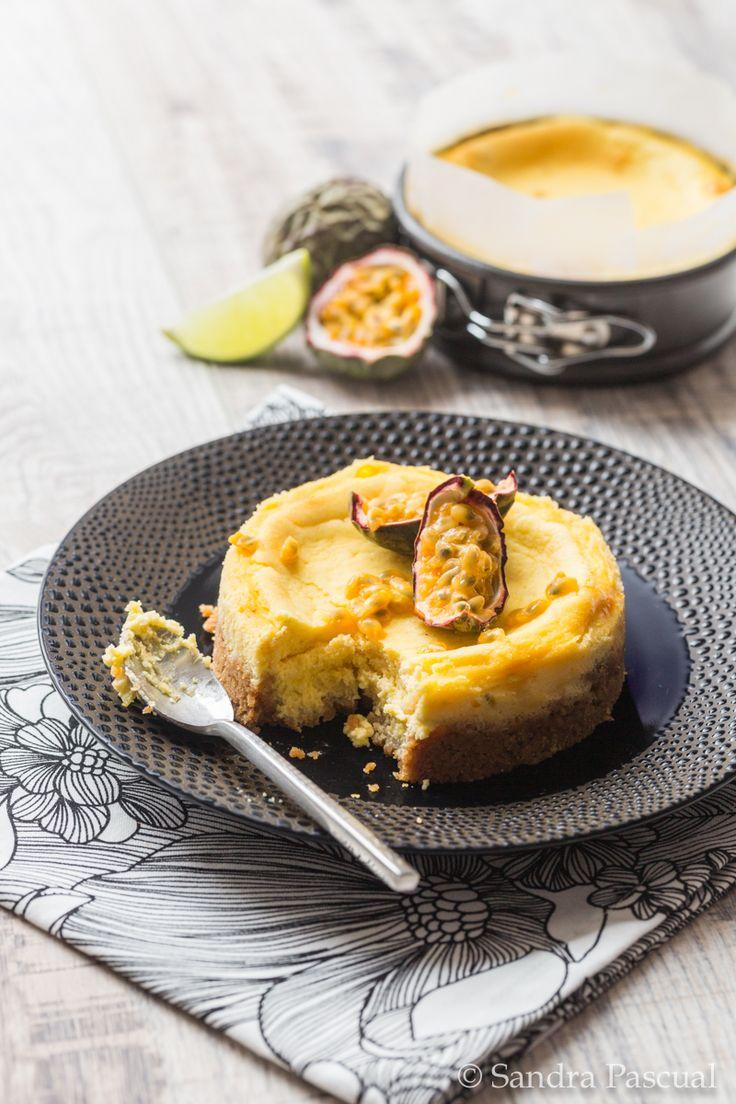 Cheesecake léger aux Fruits de la Passion