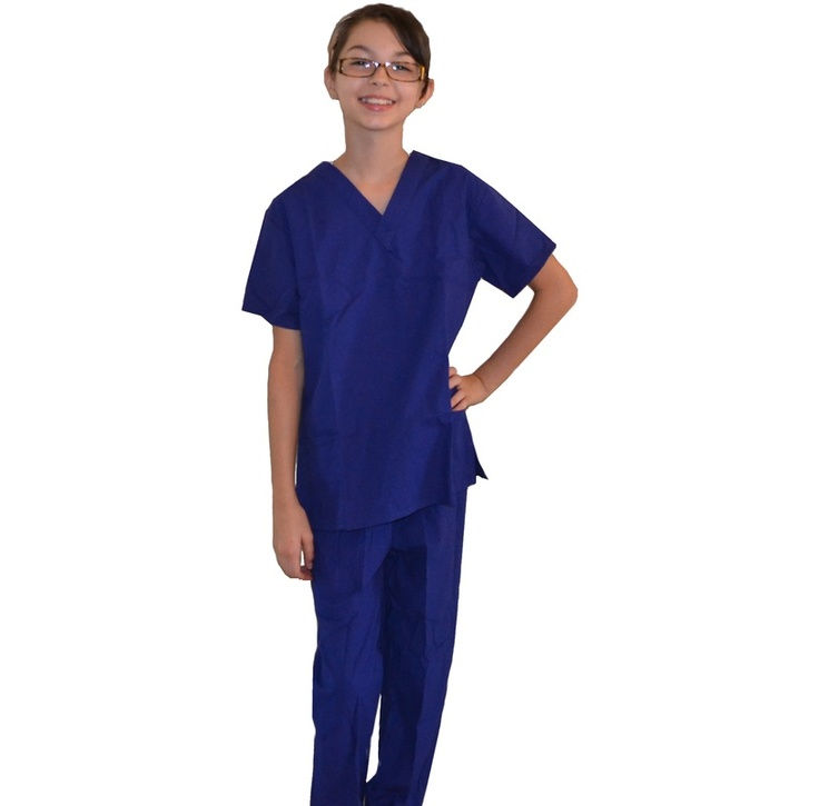 We love our Royal Blue Kids Scrub Sets. www.mykidsscrubs.com