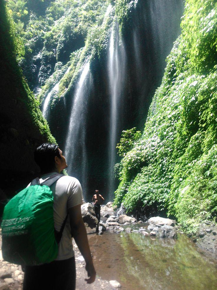 Sebuah perjalanan yang tak terduga. Untuk kesekian kalinya. Air Terjun Madakaripura.