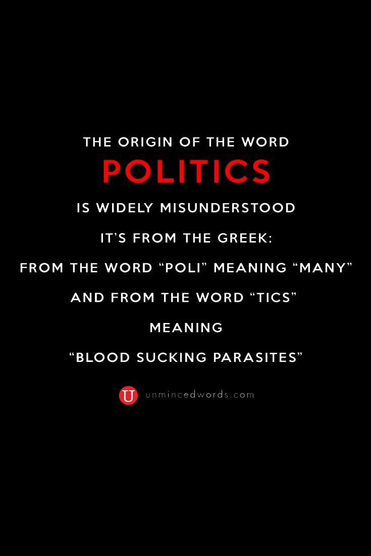 greek word for politics
