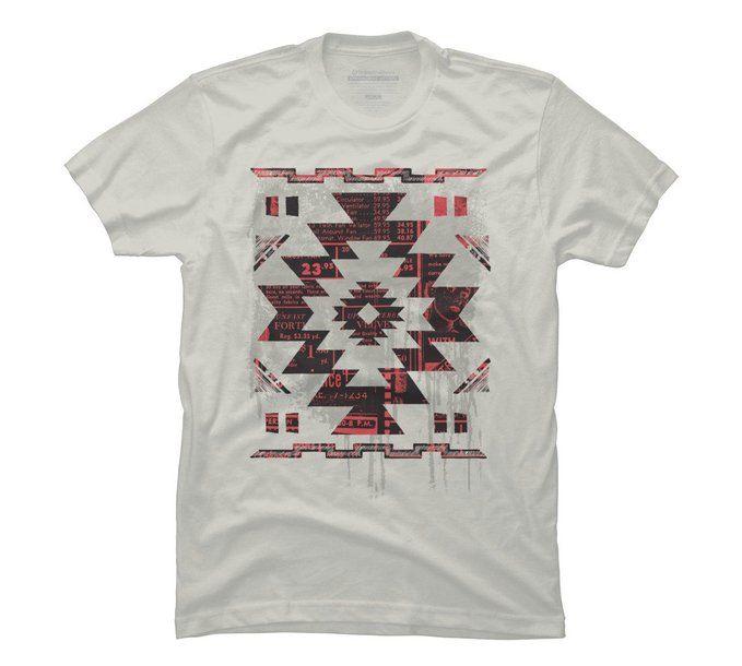 Aztec Modern Men's Graphic T Shirt - Design By Humans