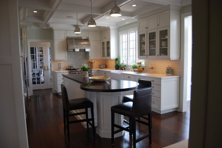 view.jpg picture by crembrulee - Cool Hood.: Kitchens, Island Countertop, Google Search, Kitchen Countertops, Round Table, Kitchen Islands