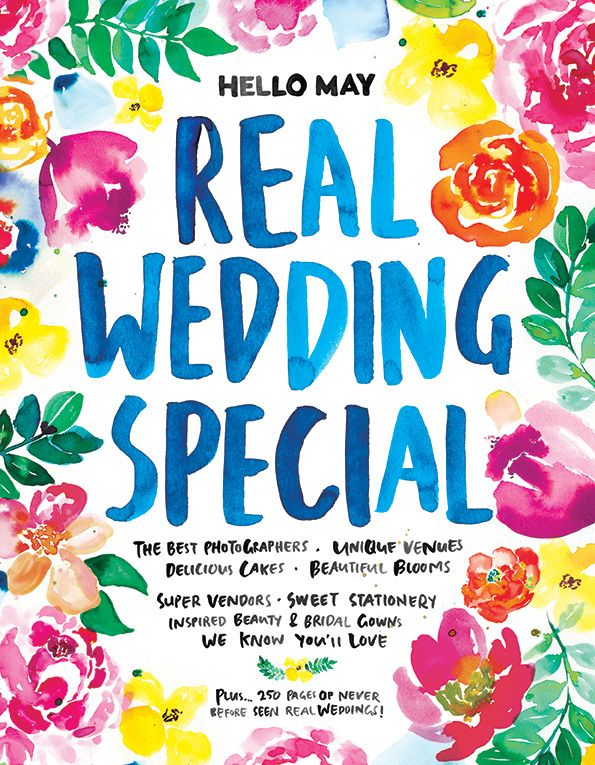 2016 REAL WEDDING SPECIAL ON SALE NOW   GIVEAWAY