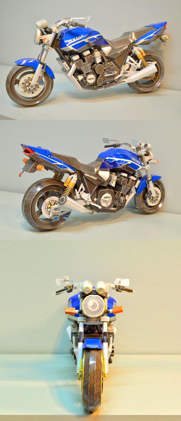 32 best motoren images on pinterest motorcycles biking and cafe yamaha xjr1300 made in paper jeuxipadfo Choice Image
