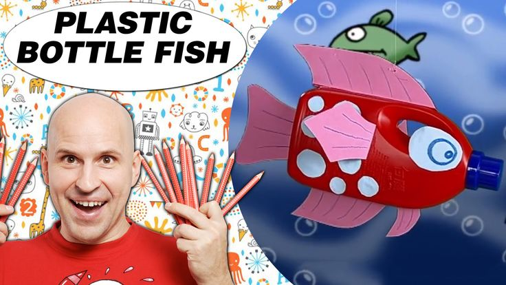 Crafts Ideas for Kids - Plastic Bottle Fish | DIY on BoxYourSelf