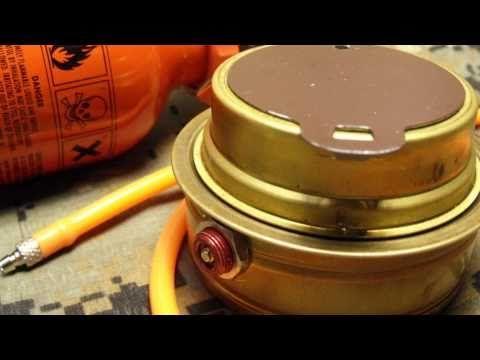 Trangia Stove External Fuel Feed Upgrade - YouTube