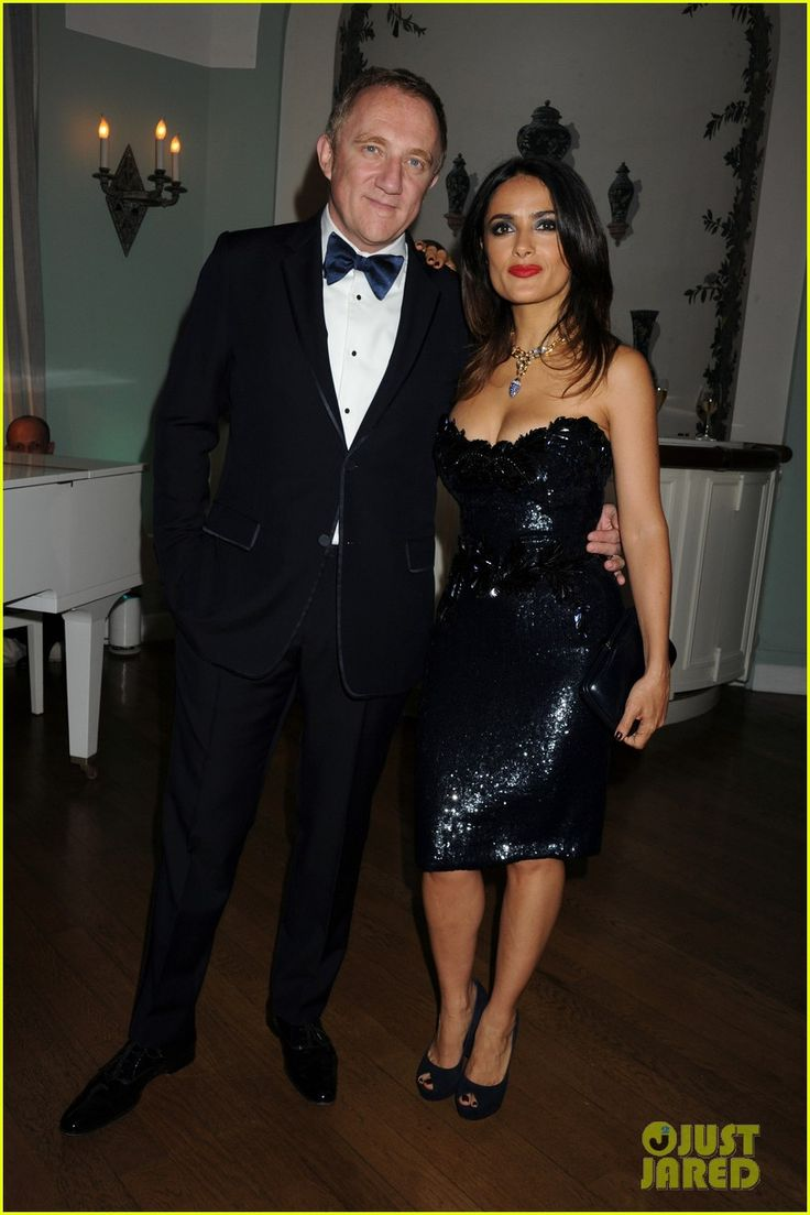 Salma Hayek and her husband Francois-Henri Pinault - Vanity Fair and Gucci party held at the Hotel du Cap-Eden-Roc during the 2012 Cannes Film Festival.