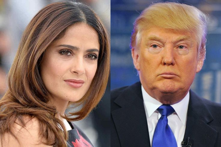 Salma Hayek Says Donald Trump Planted a Story About Her Height Because She Rejected Him - http://viralfeels.com/salma-hayek-says-donald-trump-planted-a-story-about-her-height-because-she-rejected-him/