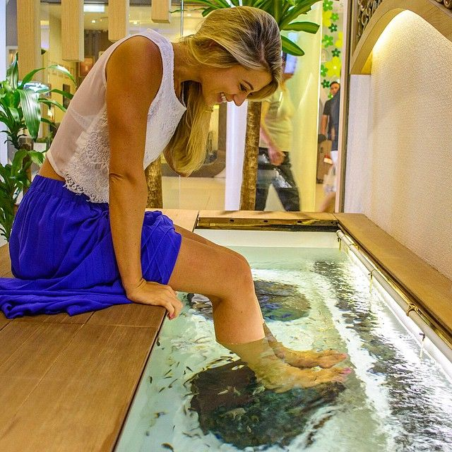 The Ultimate Pedicure- Kenko Reflexology & Fish Spa, Singapore  www.theroadlestraveled.com