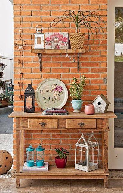 Casa - Decoração - Reciclados: Áreas Externas Lindas e Bem Decoradas!