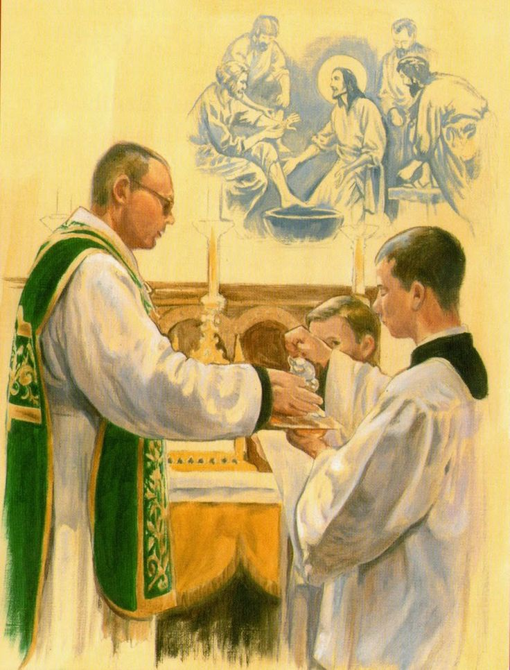 Lavabo Santa Missa de Sempre - Imagens - Associação Santo Atanásio