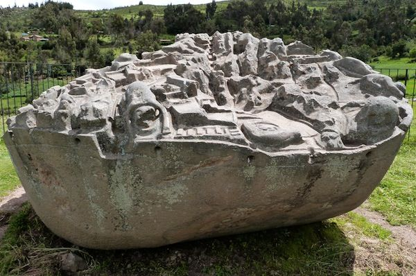 Another of Peru's greatest anomalies:  The mysterious site of Sayhuite, is one of Peru's greatest anomalies, baffling archeologists as to its origins and purpose.