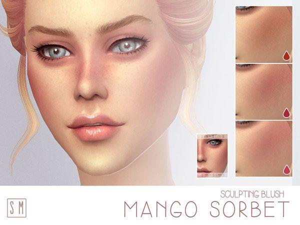 Lana CC Finds - [ Mango Sorbet ] - Ruddy Blush by Screaming Mustard