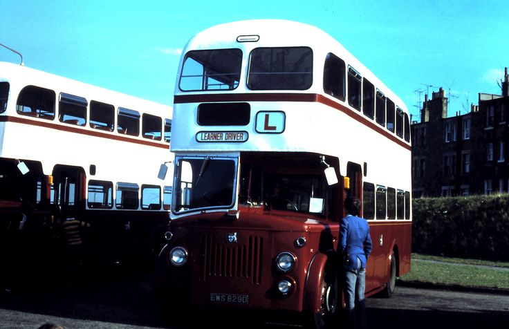 https://flic.kr/p/iGjbB5 | EWS829D_22091979 | In 1979, Lothian Region Transport's training fleet included TB7 (EWS829D), a Leyland Titan PD3/6 with Alexander 70 seat front entrance bodywork that was new to Edinburgh Corporation as its 829 in June 1966. It was photographed at an open day at Lothian's Marine garage on 22 September 1979.