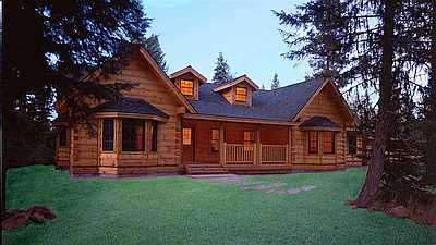 Beautiful log homes designed to save your hips and…