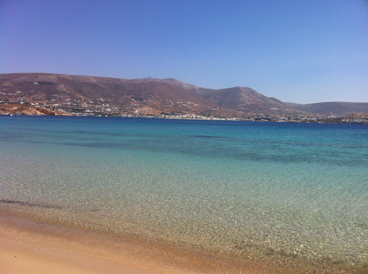Martselo beach, Parikia, Paros, Greece