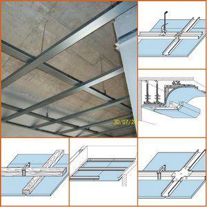Подвесной потолок это сборная конструкция из каркаса и гипсокартонных или гипсоволокнистых листов, для скрытия инженерных коммуникаций, несущих конструкций, а также для повышения звукоизоляции...