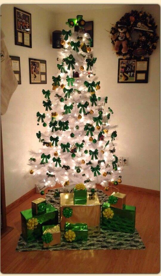 John Deere Christmas Tree | John Deere Green <3 | Pinterest | Christmas, Christmas  Tree and Christmas decorations - John Deere Christmas Tree John Deere Green <3 Pinterest